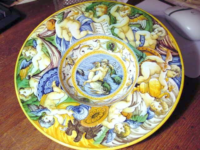 Cantagalli Plate & Italian Ceramic Wall Plates - Castrophotos